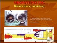 Budowa głowicy wiertniczej do mikrotunelingu.