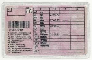 Prawo jazdy Mirosław Makuch str 2