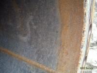 Ropociąg po czyszczeniu zestawem tłoków z użyciem detergentu.