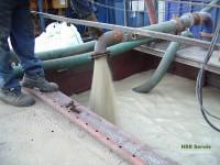 Przygotowanie zaczynu cementowo bentonitowego.