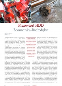 Przewiert HDD Łomianki - Białołęka (1)