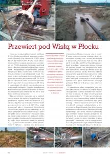 Przewiert pod Wisłą w Płocku (1)