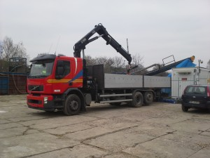 ciężarówka z HDS
